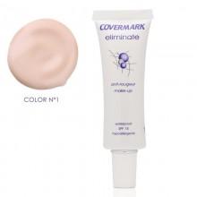 Make Up Dermatológico Eliminate - Con SPF-50 | Covermark | Maquillaje anti-Rojeces  - Tratamiento Cuperosis/Rosácea