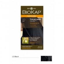 Tinte Nutricolor 1.0 Negro | Biokap | 140ml | Natural