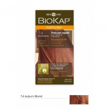 Tinte Nutricolor 7.4 Rojo Cobrizo | Biokap | 140ml | Natural