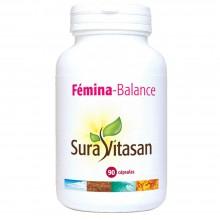 Fémina-Balance | Sura Vitasan | 90 Cáp. | 560mg  Activos | Alivio del síndrome premenstrual y postmenstrual