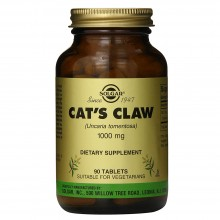 Uña de Gato - Cat´s Claw   Solgar   90 cáps. 1000mg   Antiinflamatorio