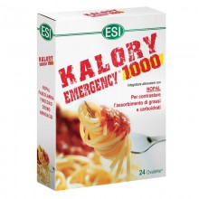 Kalory Emergency 1000 | ESI Trepatdiet | 24 Tablet. 800mg | Faseolamina y Nopal | Aumenta el metabolismo eliminando azúcares