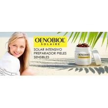 Solar Intensivo | Preparador Pieles Sensibles | Oenobiol | 30 Cáp. | Con extractos naturales | Protección celular antioxidante