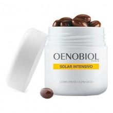 Solar Intensivo Triplo | Preparador Pieles Sensibles | Oenobiol | 90 Cáp. | Extractos 100% Bio | Protección celular antioxidante