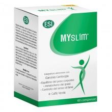 MySlim | ESI Trepatdiet | 60 Comp. 2000mg | Garcinia y Café Verde | Acelera el metabolismo, quema grasas y elimina el apetito