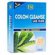 Colon Cleanse Lax Flor | ESI Trepatdiet | 30 Tablet. 650 mg | Estreñimiento Acción depurativa + Fibra y Vitaminas