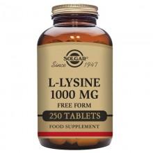L-lisina  | Solgar  | 250 comp de 1000mgr |  Aminoácido esencial para el deporte