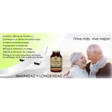 Rose Hips - Vitamina C | Solgar  | 100 comp de 500 mgr | Inmunidad - Energía
