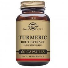Cúrcuma | Solgar | 60 Cáps de 400 mg3 mg. | Antiinflamatorio - Cuidado Óseo y Articular