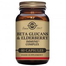 Beta Glucanos ImmuneComplex con Saúco | Solgar | 60 Cáps | Inmunidad
