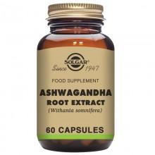 Ashwagandha Extracto de Raíz  | Solgar | 60 Cáps de 400 mgr | Adaptógena - Antiestrés