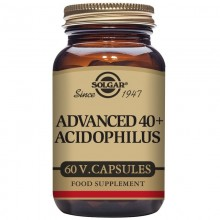 40 Plus Acidophilus Avanzado  | Solgar | 60 Cáps | Probiótico - Sis. Digestivo