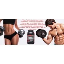 Whey Protein - Sabor a Fresa| Lamberts | 1000g en polvo|  Intenso ejercicio y régimen de entrenamiento