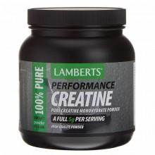 Creatina | Lamberts | 500g en Polvo|  Intenso ejercicio y construcción de músculo