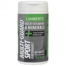 Multi-Guard® Sport | Lamberts | 60 comp. de 1500 mg |  Potente aportador de vitaminas y Minerales