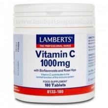 Vitamina C 1000 mg | Lamberts | 180 Comp de 1000 mgr | Sistema inmune