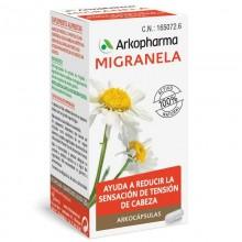 Migranela | Arkocápsulas | Arkopharma  | 42 cáps  | Sistema nervioso - Insomnio - Estrés