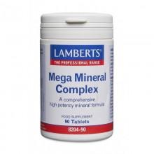 Complejo Mega Mineral | Lamberts | 90 comp  | Funciones fisiológicas – Energetico – Cansancio – Fatiga