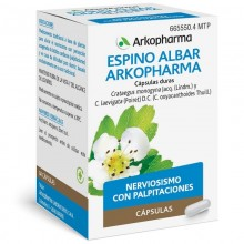 Espino Albar  | Arkocápsulas | Arkopharma | 84 cáps de 350 mgr | Sistema nervioso - Estrés - Insomnio