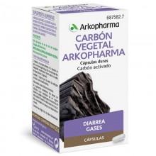 Carbón Vegetal   Arkocápsulas   Arkopharma   48 cáps   Sistema digestivo