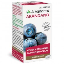 Arándano | Arkocápsulas | Arkopharma | 45 cáps de 380 mgr. | Sistema circulatorio - Antioxidante