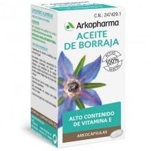 Aceite de Borraja | Arkocápsulas | Arkopharma | 48 cáps de 500 + 10 mgr. | Sistema digestivo - Hígado y vesícula