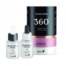 Hyalurónico 360 | Ebers | Fórmula 2 Serums de 30 ml | Efecto flash - Antiaging