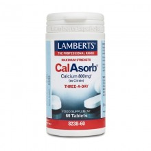 CalAsorb®  | Lamberts | 60 Comp. de 800 mgr. | Huesos – Crecimiento – vejez