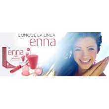 Copa menstrual  | Enna | Ecareyou | 2 Copas de la talla S | Salud íntima femenina