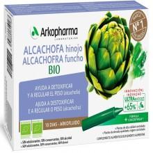 Alcachofa-Hinojo BIO   Arkofluido   Arkopharma   10 ampollas de 15 ml.   Pérdida de peso - Detoxificante