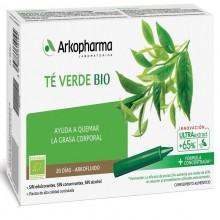 Té Verde BIO | Arkofluido | Arkopharma | 20 ampollas de 15 ml. | Pérdida de peso - Detoxificante