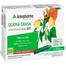 Quemagrasa | Arkofluido | Arkopharma | 20 ampollas de 15 ml. | Control de peso - Detoxificante