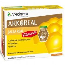 Jalea Real Vitaminada | Arkoreal | Arkopharma | 20 ampollas de 15 ml. | 500 mgr. | Jalea Real - Energía