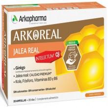 Intelectum – Jalea Real | Arkoreal | Arkopharma | 20 ampollas de 15 ml. | 500 mgr. | Jalea Real - Estimulante