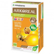 Jalea Real Fresca Junior | Arkoreal | Arkopharma | 20 ampollas de 15 ml. | 500 mgr. | Jalea Real - Energía - Sistema Inmunitario
