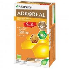 Jalea Real Fresca BIO Forte | Arkoreal | Arkopharma | 20 ampollas de 15 ml. | 1000 mgr. | Energía – Sis. Inmunitario