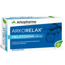 Melatonina | Arkorelax | Arkopharma | 30 comp. 1,95mg | Insomnio y estrés