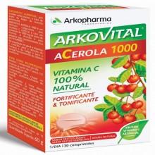 Arkovital Acerola 1000   Arkopharma   30 Comp. de 1000 mg  Energía