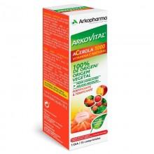 Arkovital Acerola 1000 fuente de vitamina C    Arkopharma   15 Comp. de 1000 mg  Energía