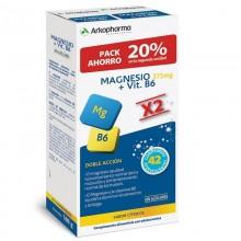Arkovital Magnesio 375mg + B6 x2   Arkopharma   42 Comp. 375 + 1,4 mg   Músculos y Huesos