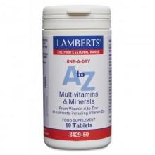 A-Z Multi. | Lamberts | 60 Comps. | Multivitamínico – cansancio – fatiga