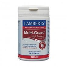 Multi-Guard® | Lamberts | 90 comp. | Multivitaminico – especial veganos