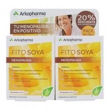 Fitosoya Isoflavonas – 60 x2 | Ginecología | Arkopharma | 120 Cáp. 124 mg | Menopausia y Huesos
