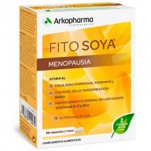 Fitosoya Isoflavonas – 60 | Ginecología | Arkopharma | 60 Cáp. 124 mg | Menopausia y Huesos