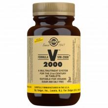 Fórmula VM-2000 - Multivitamínico y Mineral | Solgar | 30 Comp  | Sistema Inmunitario - Antioxidante