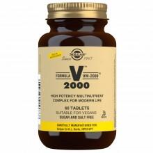 Fórmula VM-2000 - Multivitamínico y Mineral | Solgar | 60 Comp  | Sistema Inmunitario - Antioxidante