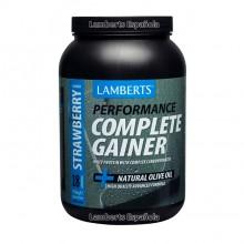 Complete Gainer - sabor a Fresa| Lamberts | 1816g en polvo|  Construcción del musculo - Maximiza la potencia