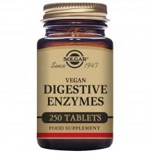 Vegan - Enzimas Digestivas | Solgar | 250 Comp de 144 mg | Sis. Digestivo