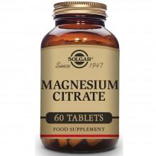 Citrato de Magnesio  | Solgar  | 60 Comp de 420 mgr | sistema nervioso y muscular