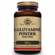 L- Glutamina en Polvo  | Solgar  | 200 gr en polvo | Rendimiento físico y metabólico